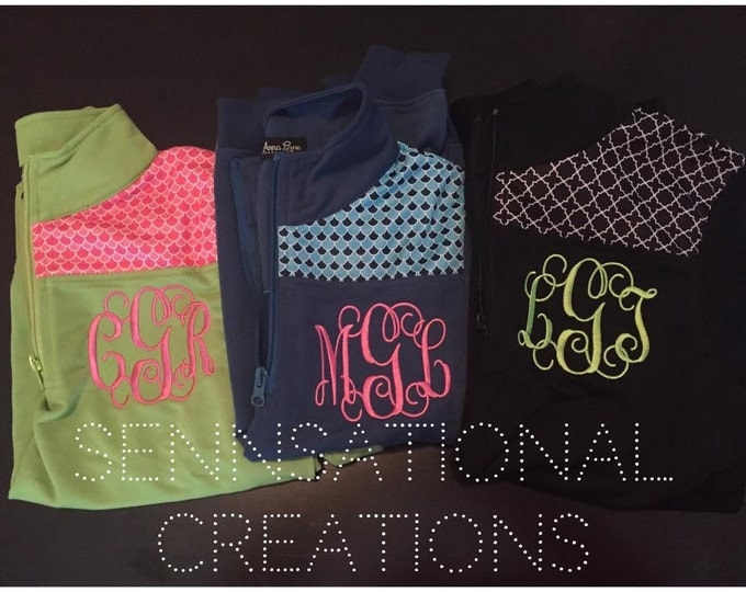 ADULT Cotton Pullover, Shoulder Patch Pullover, Monogrammed Pullover,Mommy and Me Pullovers, Lightweight Monogrammed Jacket, Greek Pullover