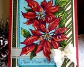 """PSX / Stampin up - Handmade """"Warm Winter Wishes """" card NEW"""