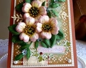 "Stampin up! Handmade ""Happy Birthday"" card - NEW"