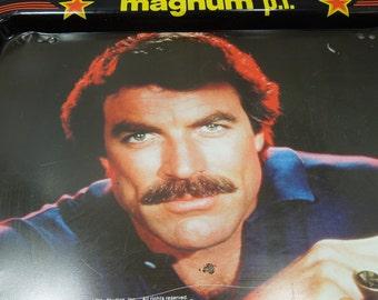 Vintage Magnum P I Aluminum Tv Tray 1980 S Decor Family