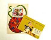 60s Entertaining Hostess Pamphlets 2 Vintage