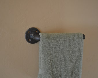 Industrial Pipe Hand Towel Hanger
