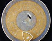 "FREE SHIPPING - Ouija board - Spiritistic board - Talking board ""Moon Goddess"""