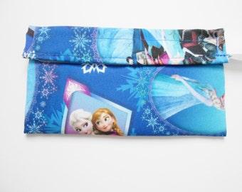 Frozen Anna Elsa Reusable Snack Bag