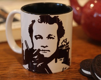 Bill Murray, Peter Venkman,  Ghostbusters, Ghostbusters Cup, Ghost busters Gift, Portrait Cup, Hand Printed Cup