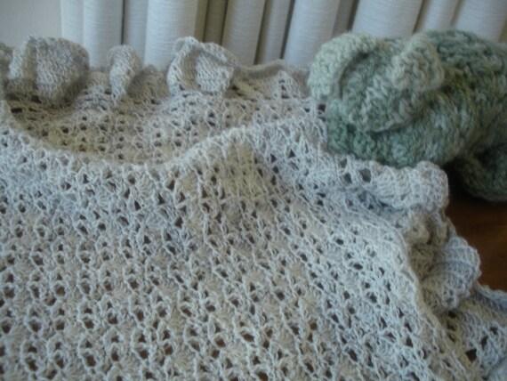 Christening Cloud Baby Blanket Crochet Pattern Pdf By