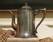 Vintage  Sheffield No. 3102 Silver Plate Coffee or Teapot / Silver Patina