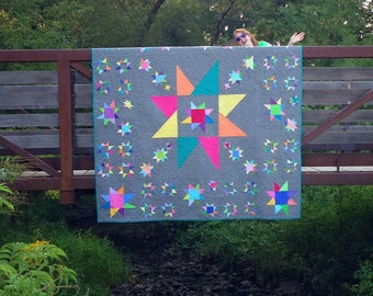 Paradox Quilt Pattern by Freckled Whimsy