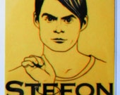 """Saturday Night Live - Stefon - """"This Club Has Everything""""  Vinyl Decal"""