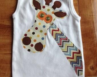 Boy Giraffe Onesie or Shirt