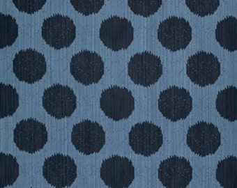 Static Dot in Indigo from Moonshine by Tula Pink