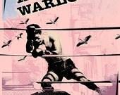Interpol / Warlocks by artist: Darren Grealish