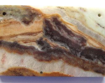 Multi Color Amazonite Pendant Stone