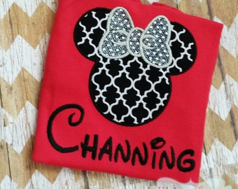 Gorgeous Custom embroidered Disney Vacation Shirts for the Family! 910