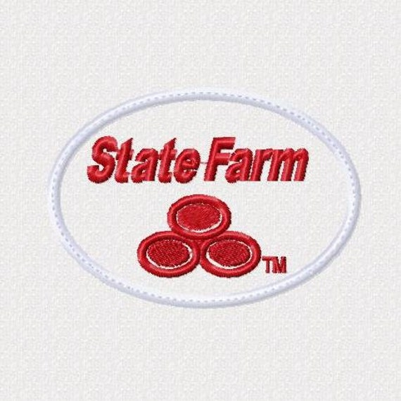 Insurance Logo Applique Instant Download Fits The 4X4 Hoop