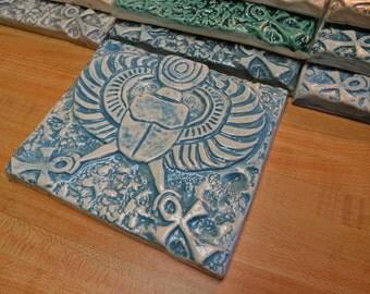 Scarab Ceramic Tile