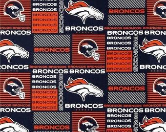 Over the Collar Broncos Bandana