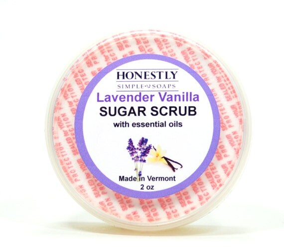 to Lavender Vanilla Sugar Scrub ~ Emulsified Sugar Scrub ~ Lavender ...