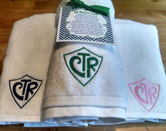CTR Towel  Group/Ward Order Pricing  *Free Shipping