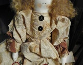 "Primitive Country Doll ""Abigail Appleton"""