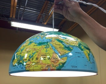 Vintage GLOBE LAMP pendant light