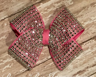 Rhinestone Basic Bow