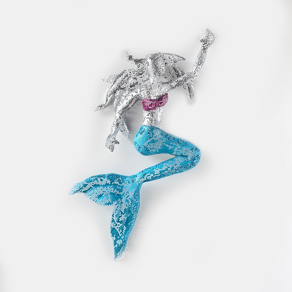 Little Mermaid Metal Mermaid Wall Art Decor Home Decor