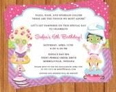 Spa Pampering Invitation | Kids Birthday | Printable Editable Digital PDF File | Instant Download | KBI205DIY