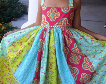 Gorgeous birthday party dress/ tea party dress/ girls dress