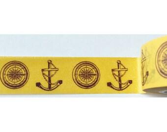 "SALE Washi Tape ""Marine""  15mm x 10 Meters"