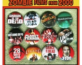 "custom listing for: zombieland and shaun of the dead 1"" buttons"