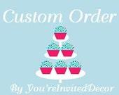 Custom Order for Jody Tozet