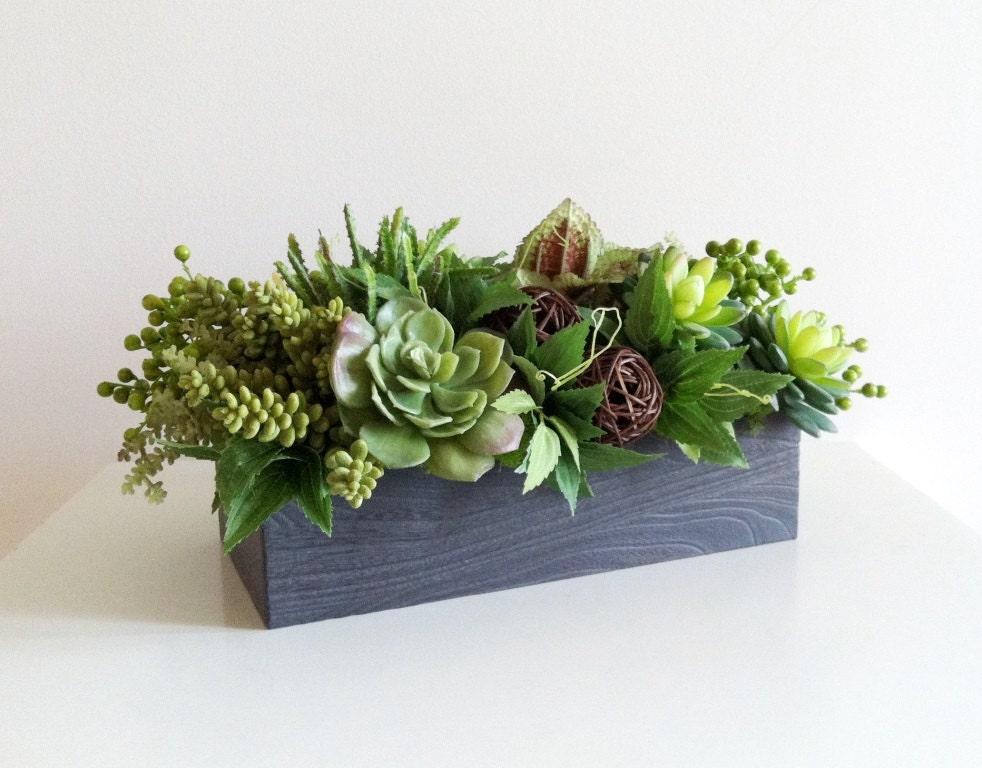 Artificial succulent planter faux succulents planter Planters for succulents