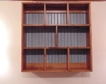 Reclaimed Pine Wall Shelf