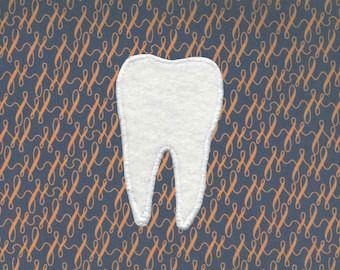 Handmade Tooth Patch