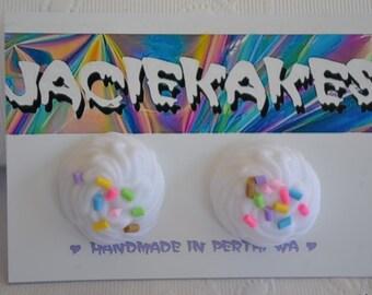 Whipped Cream Sprinkles Earrings