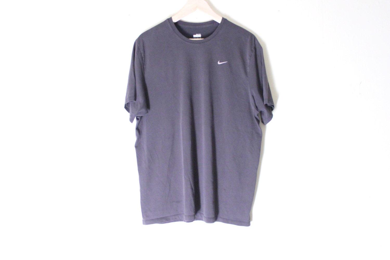 Black Nike Dry Fit Shirt Athletic Goth Nike Shirt By Lsbmarket