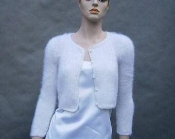 TO ORDER :Maja - (Not only) wedding bolero, sweater , 3/4 sleeves