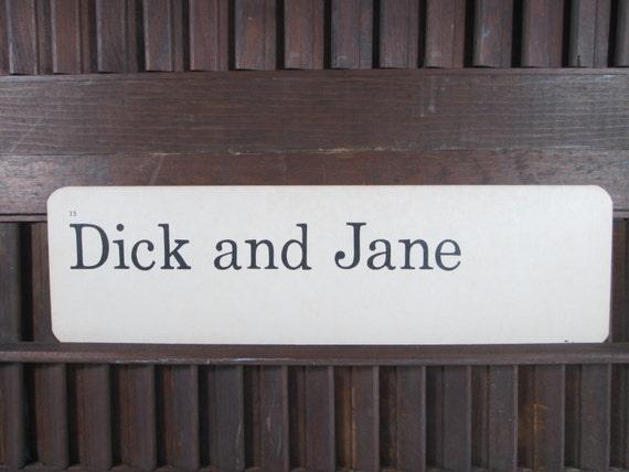 Dick and Jane Scott Foresman Vintage Flash Cards eBay