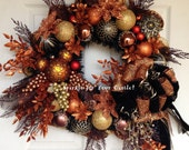 Leopard Wreath, Christmas Wreath, Mickey Mouse Leopard Wreath