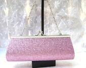 Pink Glitter Party Purse / women / teens / clutch bag / women's accessories