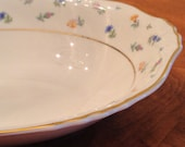 "Syracuse ""Suzanne"" Small Oval Serving Bowl"