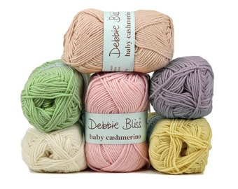 Debbie Bliss Baby Cashmerino 50g Knitting Yarn Baby Wool