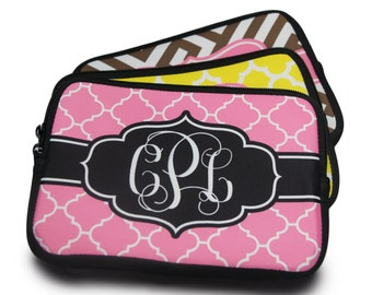 Monogrammed Cosmetic Case | Personalized with monogram, initials or name