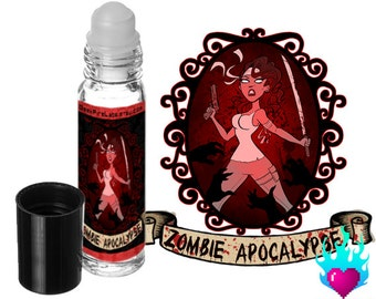 Zombie Apocalypse Perfume Oil Rollerball