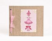 Baby Book - Baby Memory Book - Girl, Ballerina, Baby Album - Ballet Baby Memory Book - Hugs and Kisses XO Baby Memory Book