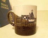 SALE!!! Unique Abstract Village Mug