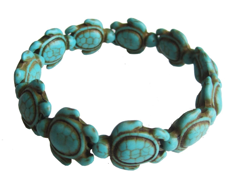 Turquoise Sea Turtle Bracelet Tibetan Style | Helping ...  |Turquoise Sea Turtle