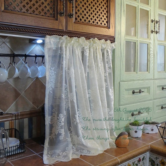 Pair Of Shabby Chic French Country Style Fairy Tale Creamy
