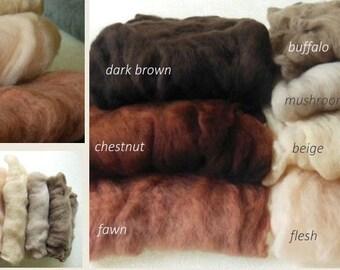 Wool fluff merino basket stuffer newborn photo prop